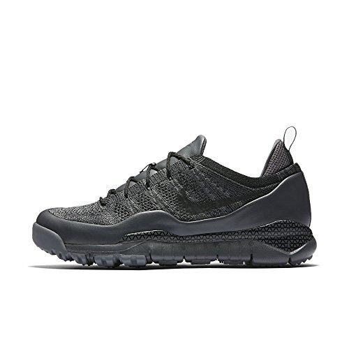 LUPINEK FLYKNIT LOW mens fashion-sneakers 882685-001_10 - DARK GREY / BLACK-COOL GREY