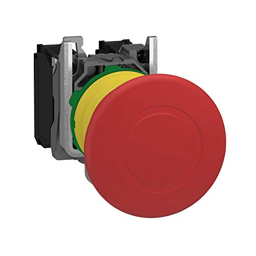 Schneider XB5AT845 Pilzdrucktaster not-aus, Rastend, Zugentriegelung, 1S+1Ö