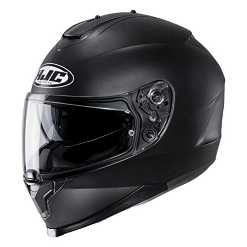 HJC Unisex– Erwachsene NC Motorrad Helm, Schwarz, M