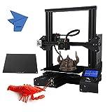 Creality 3D Ender-3X Impresora 3D (Versión Mejorada) de alta precisión DIY 3D Auto-ensamble Tamaño de impresión 220 * 220 * 250 mm con placa de vidrio