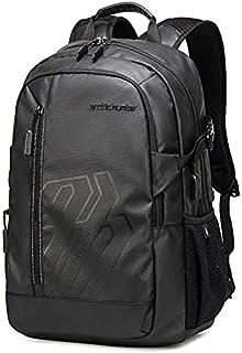 Arctic Hunter Light Outdoor Men's Backpack 15.6 Inch Multifunction Large Capacity Waterproof - Black