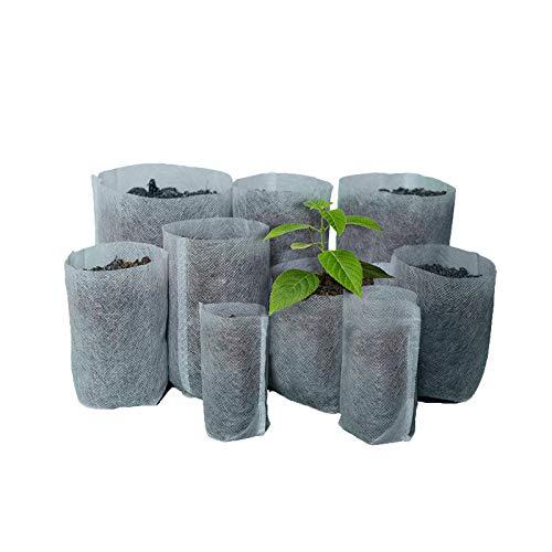 100 bolsas de tela biodegradables no tejidas para cultivo de ...
