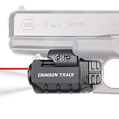 Crimson Trace CMR-205 Rail Master Pro Universal Red Laser Sight and Tactical Light with Instinctive Activation for Shooting, Competition and Range