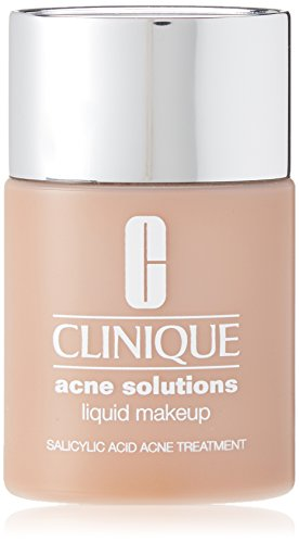 CLINIQUE by ACNE SOLUTIONS LIQUID MAKEKUP 18 FRESH CREAM CARAMEL 1.0 OZ