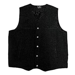Wyoming Traders Men's Wool Vest – Vb-Black