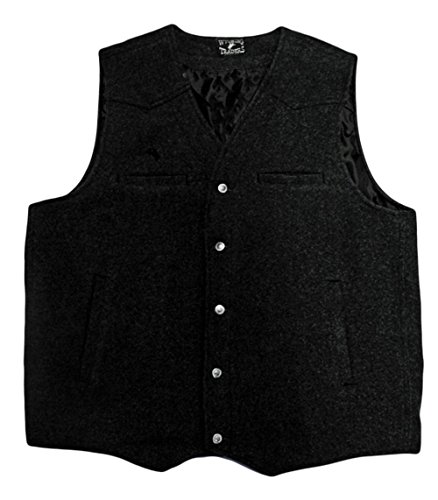 Wyoming Traders Men's Wool Vest – Vb-Black