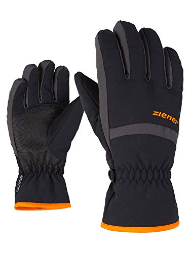Ziener Kinder Lejano As(r) Glove Junior Ski-handschuhe, Black/Graphite, 6.5 (L)