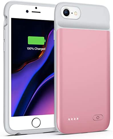 Lonlif Battery Case for iPhone 7 8 6S 6 SE 2020 2nd Generation 3200mAh Portable Charging Case product image