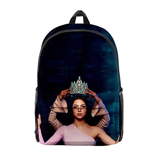 BINGTIESHA Eva Queen Rucksack Mode Stil Schultasche 3D Casual Daypacks Französische Sänger Reisetasche, Xa00457, Einheitsgröße,