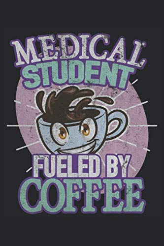 Medicine student coffee future doctor doctor: Notebook - Notebook - Notepad - Diary - Planner - Dot grid - Dotted notebook - 6 x 9 inches (15.24 x 22.86 cm) - 120 pages