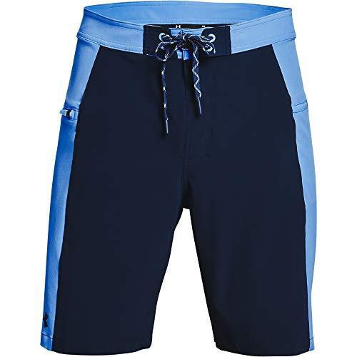 Under Armour Men's Fish Hunter Boardshorts , Carolina Blue (475)/Academy Blue , 38