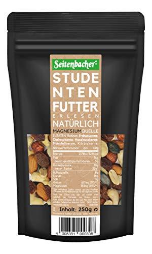 Seitenbacher Studentenfutter, nativ, ohne Zusätze, 1er Pack (1 x 250 g)