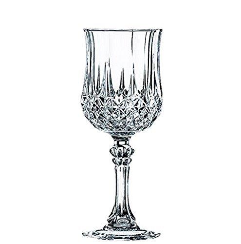 Cristal d´Arques, Longchamp Weinkelch 250ml, ohne Füllstrich, 6 Stück