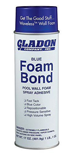 Gladon Pool Wall Foam Spray Adhesive - 17 oz.