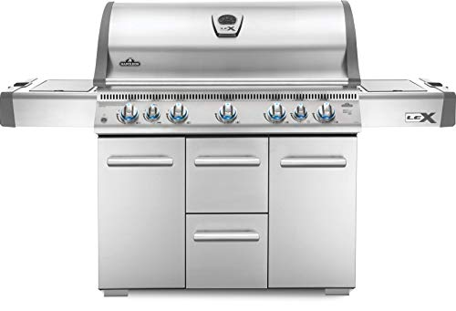 Napoleon LEX730RSBINSS Natural Gas Grill - a Assembly Electronics Features Free Gas Grill Grills Natural Products Service UDS with