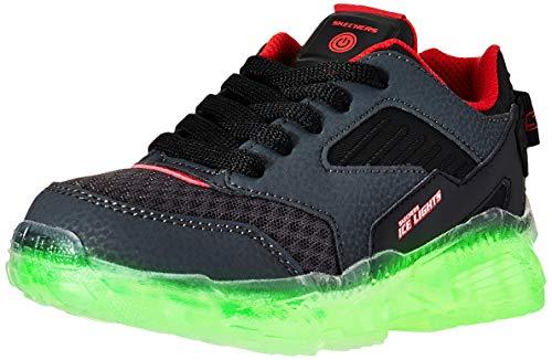Skechers Zapatillas S Lights-Arctic-Tron para Niños Negro 34 EU