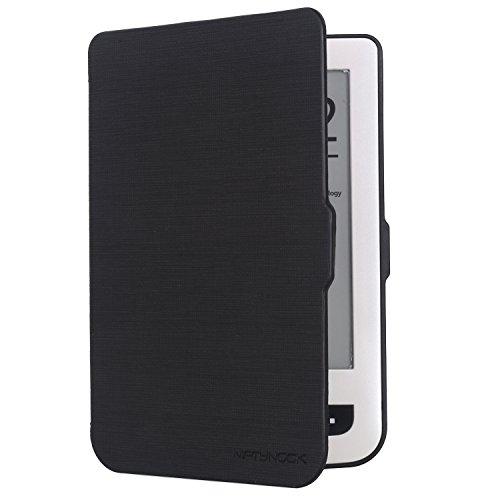 niftynook Flip Case für Pocketbook 624Basic Touch/Pocketbook 626Touch Lux 2/Touch Lux 3, Schwarz