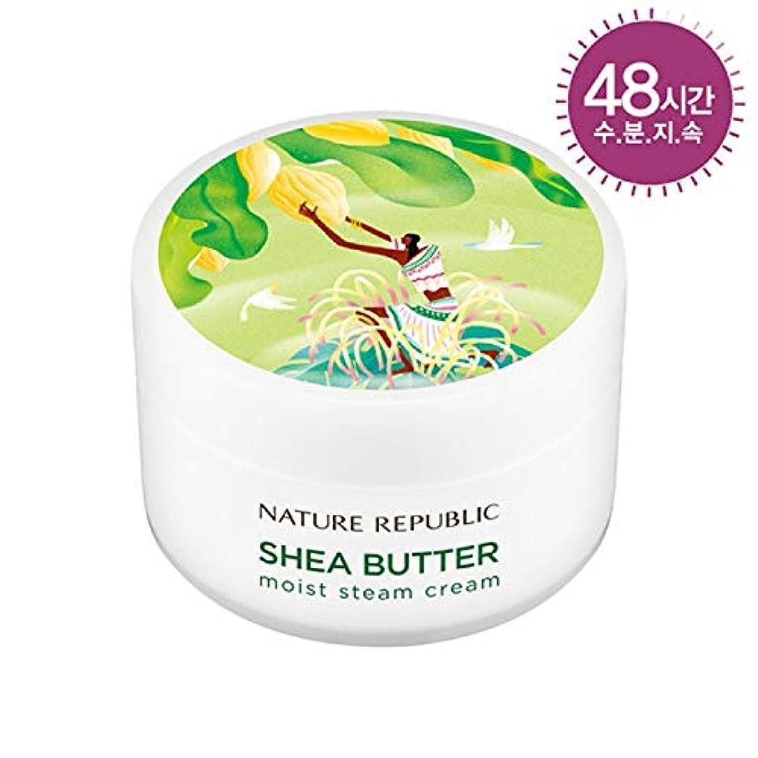 アプト速い期限ネイチャーリパブリック(Nature Republic)シェアバタースチームクリームモイスト[中乾燥肌] 100ml / Shea Butter Steam Cream 100ml (Moist) :: 韓国コスメ [並行輸入品]