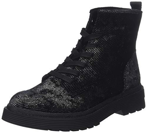 Calvin Klein Jeans Damen Annie Metal CORDOUROY Stiefeletten, Schwarz (Black 000), 36 EU
