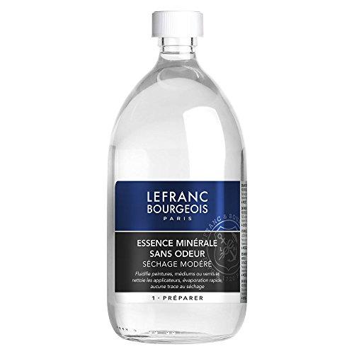 Lefranc Bourgeois Additif Essence de Pétrole Sans Odeur Flacon 1 L