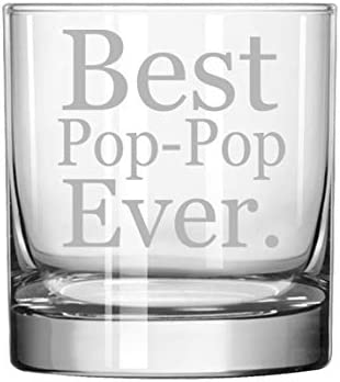 11 oz Rocks Whiskey Highball Limited time sale Best Ever Max 51% OFF Glass Pop-Pop
