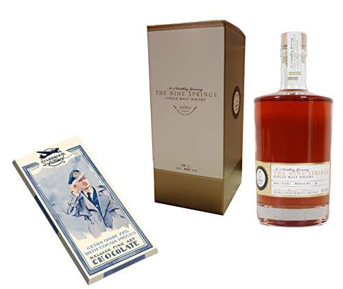 Whisky The Nine Springs Single Malt - 1989er Special Edition - mit Schokolade