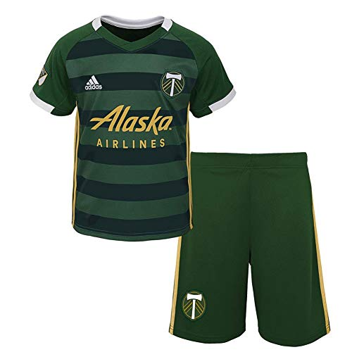 Outerstuff Toddler Portland Timbers Soccer Kit Baby Jersey/Short Set (18 M)