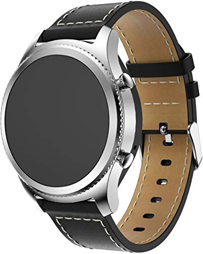 Classicase Correa de Reloj Compatible con Amazfit GTS/GTS 2 / GTS 2 Mini/GTR 42mm, Correas Repuesto (diseño de Moda Original) (20mm, Schwarz)