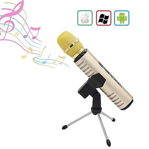 Review HLKYB Karaoke Microphone, Karaoke Microphone for Kids with Bluetooth Speaker, Microphone Kara...