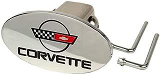 1984-1996 Corvette C4 Brass Tow Hitch Cover
