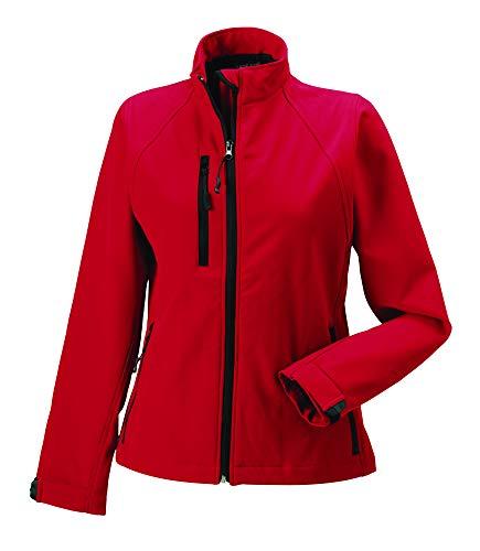 Russell Damen Softshell Jacke, Größe:2XL, Farbe:Classic red