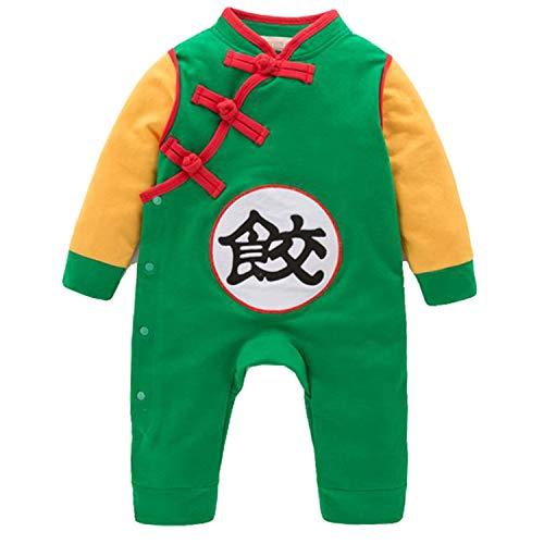 wetry Son Goku Disfraz Bebé Mameluco Dragon Ball Z Diseño Recién Nacido Niño Niña Mono Cosplay Disfraces Infantil 0-24 Meses