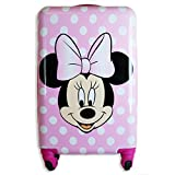 Minnie Mouse 20 Inches Kids Luggage Hardside Tween Spinner Carry-On Rolling Suitcase for Kids