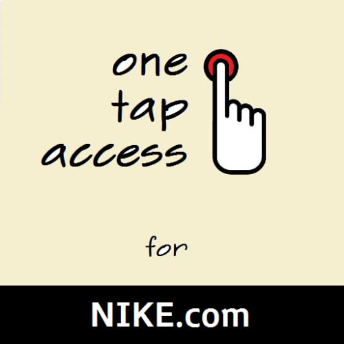 One Tap for Nike
