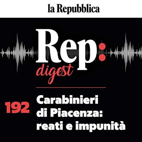 Couverture de Carabinieri di Piacenza - reati e impunità
