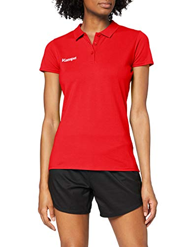 Kempa 200234701 Polo Femme, Rouge, FR (Taille Fabricant : XL)