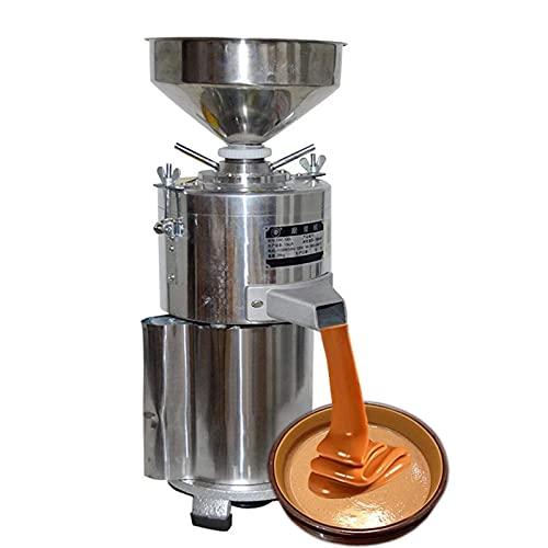 Macchina del burro di arachidi, smerigliatrice del burro di arachidi dell'acciaio inossidabile di 220V, con la base antiscivolo e la grande ingresso, per il burro di noce di sesamo di arachidi, 15 kg