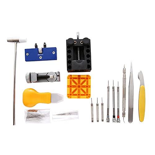 Kit d'outils de réparation de Montre, Outil de réparation de Montre Kit de réparation de Montre boîtier Durable avec étui pour réparation de Montre pour réparateur de Montre