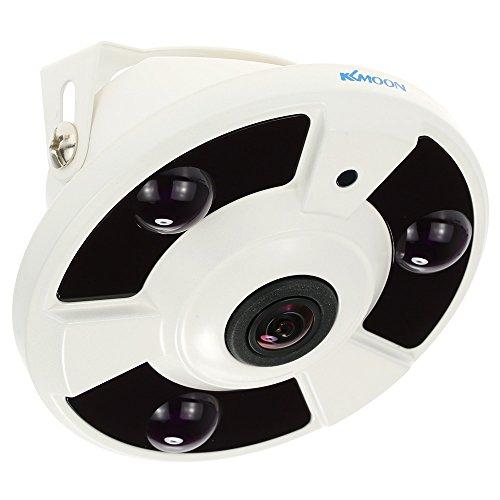 KKmoon CCTV Camera,Panoramic Camera,Analog Camera,1.7mm Fisheye,1080P HD,Security Camera,Surveillance Camera,Home Surveillance NTSC System,360° Wide Angle Viewing,IR Night Vision,Indoor Camera