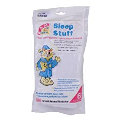 small Penn Plax SAM Sleeping Material Fiber Nesting Pillow 6 Pad for Hamsters