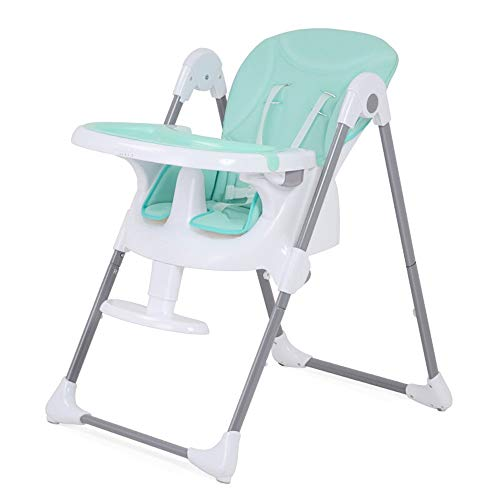 Great Features Of ShurndGao High Chair Easy to Clean Folding Baby Eat High Chair Portable Feeding Sn...