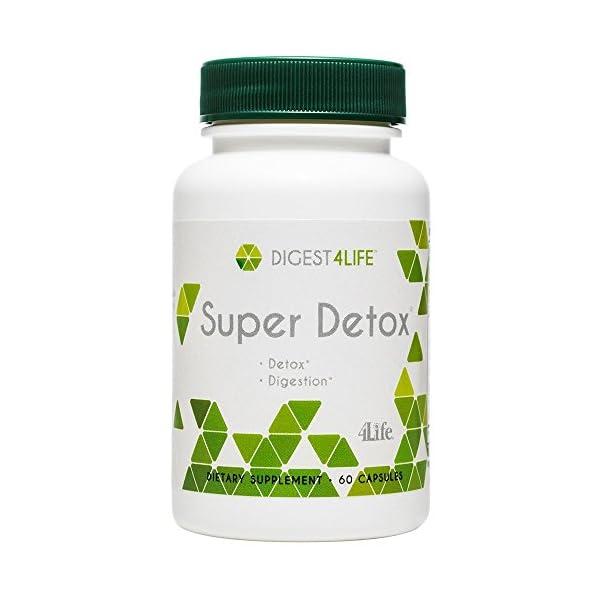 Detox products 4Life – Super Detox – Detoxification and Liver Support – 60 Capsules