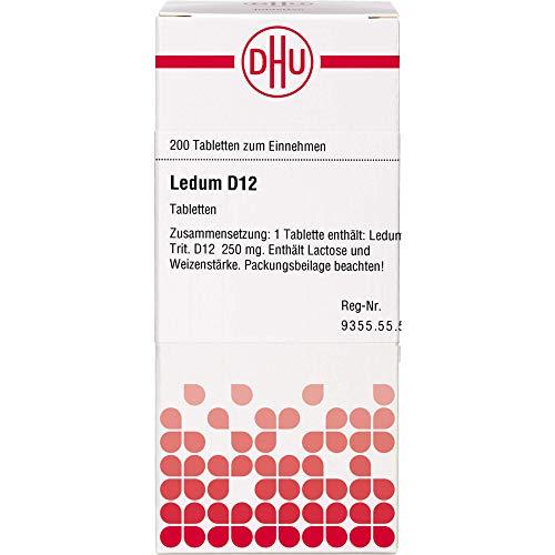 DHU Ledum D12 Tabletten, 200 St. Tabletten