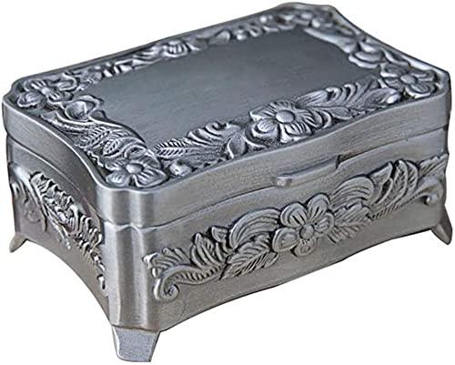 OH Caja de Alenamiento Retro Anillo de Joyería Pendientes Collar de Embalaje Joyería Caja de Alenamiento Accesorios Accesorios Joyería Mostrar Caja de Escaparate Alta capacidad