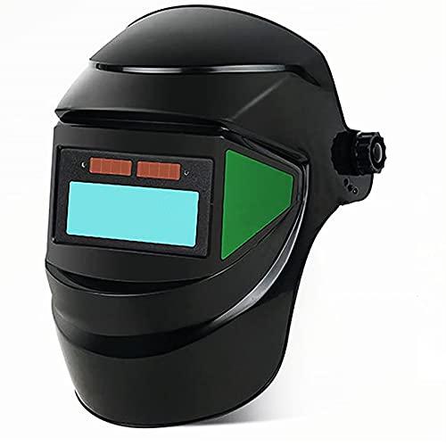 LifBetter Casco de soldadura solar automático oscurecimiento máscara de soldadura, soldadura de arco de argón, máscara protectora montada en cabeza de soldadura, gafas de soldadura, tapa de soldadura