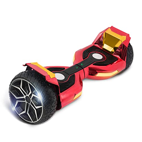 Hoverboard for Kids and Teens Self Balancing Scooter 500W Motor 8.5' Wheels with LED...