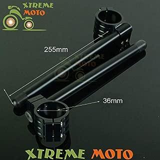 Occus Grips Aluminum 36MM Fork Tube Adjustable Handlebars Clipons Clip-on for KZ550 KZ650 KZ700 KZ750 KZ1000 Motorcycle Street Racing Bike