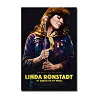 Ipea Linda Ronstadt The Sound Of My Voice Movie Painting Poster Prints Canvas Wall Art Pictures For Home Room Decor(19.69X27.56 In)50X70 Cm Unframed