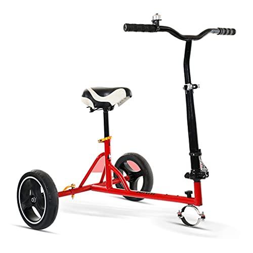 Stands Hoverboard Go Kart Kit de conversión de Accesorios para Asiento de Hoverboard, Asiento eléctrico para Manillar de Go Kart, Longitud Ajustable, para 6.5/8/10 Pulgadas