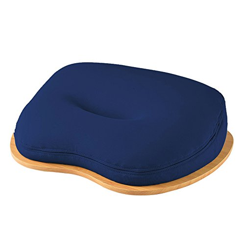 CIKALIN膝上テーブルテーブルクッションタブレット用PCテーブルラップトップデスクネイビー